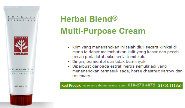 Herbal Blend® Multi-Purpose (end 11/17/2015 10:15 PM - MYT )