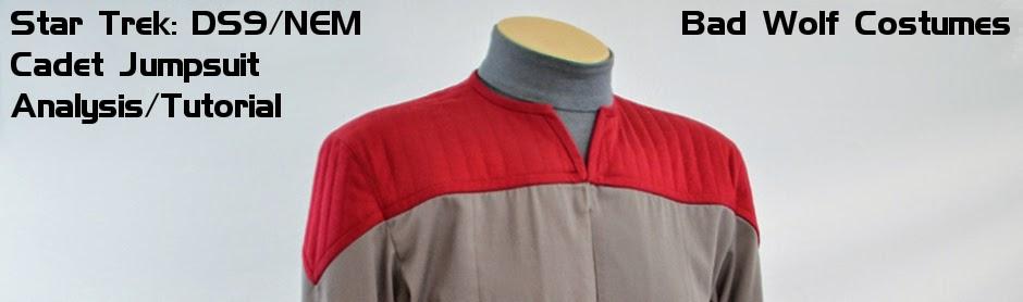 Star Trek: DS9/NEM Cadet Jumpsuit Analysis/Tutorial