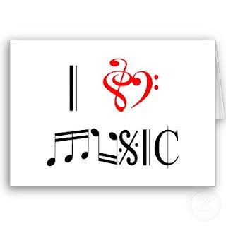 Music love tag