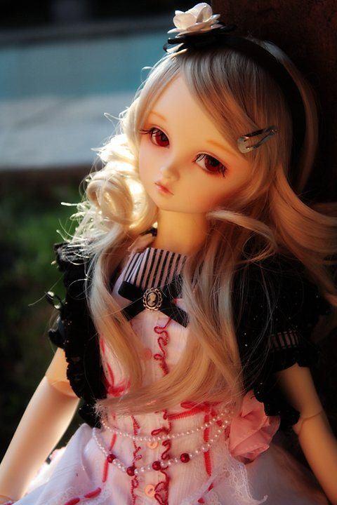 boneka cantik 1 gambar boneka