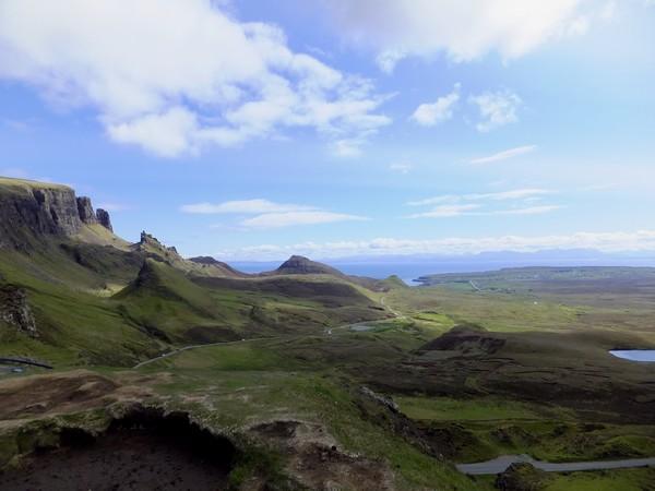 écosse scotland skye randonnée quiraing