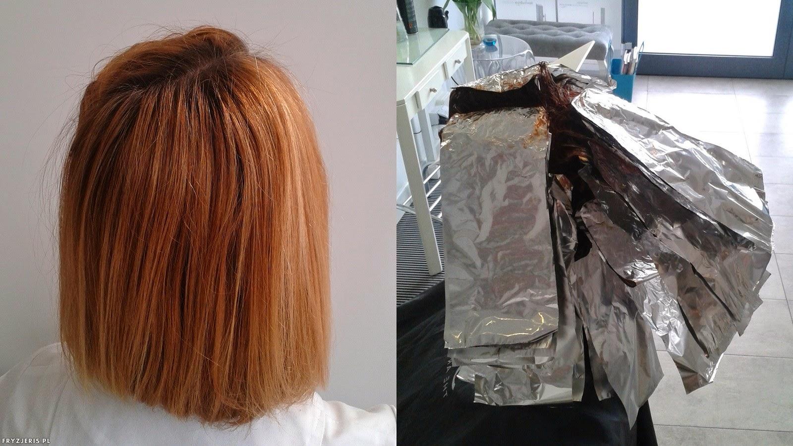 koloryzacja rudy kolor włosów 2