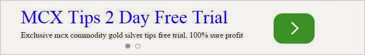MCX commodity trial tips
