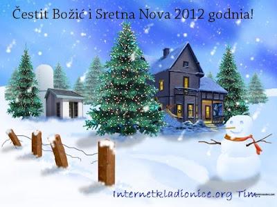 Cestit Bozic i sretna nova 2012