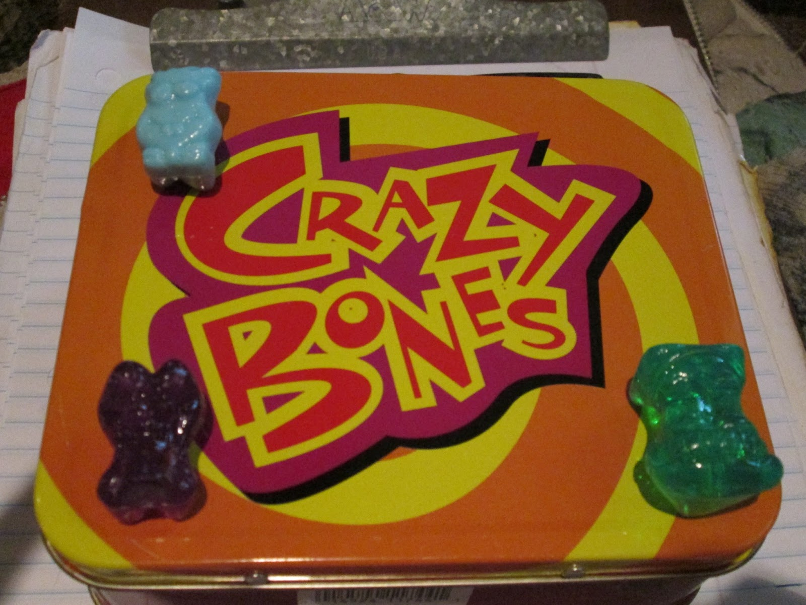 of Crazy Bones But Thought