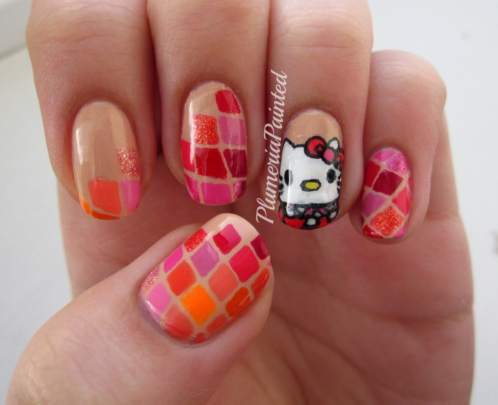 The Astounding Hello kitty nails for kids Photograph