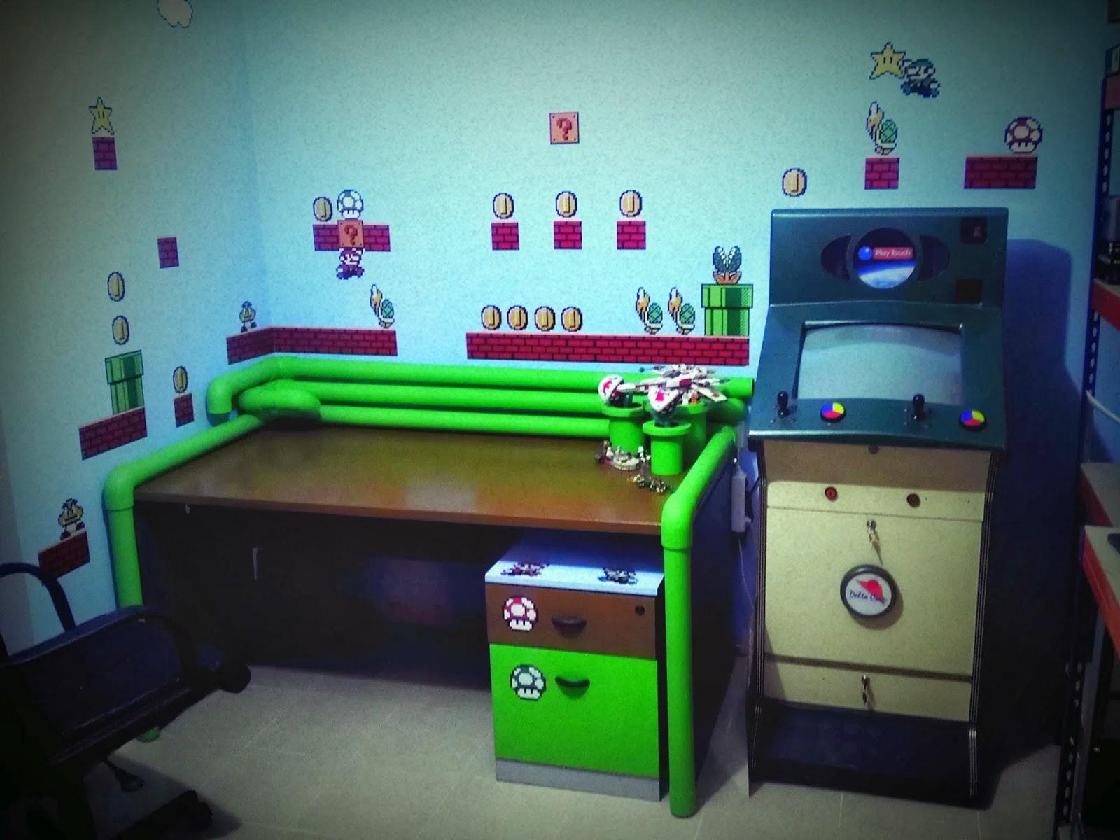El blog de fornes como decorar una habitaci n friki - Mejor sistema para calentar una habitacion ...