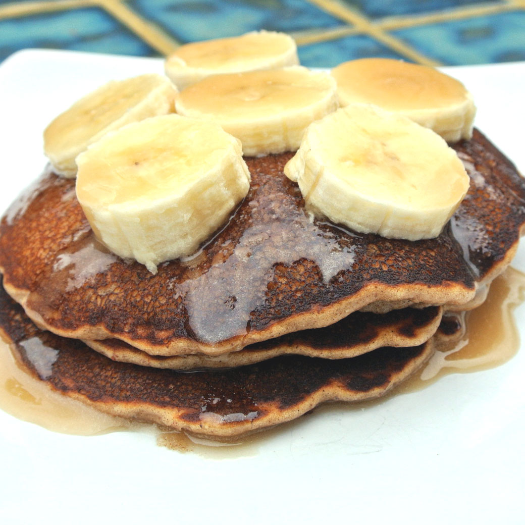 Mom, What's For Dinner?: Banana Bread Pancakes Gluten-Free