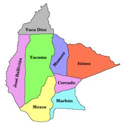 Provincias benianas