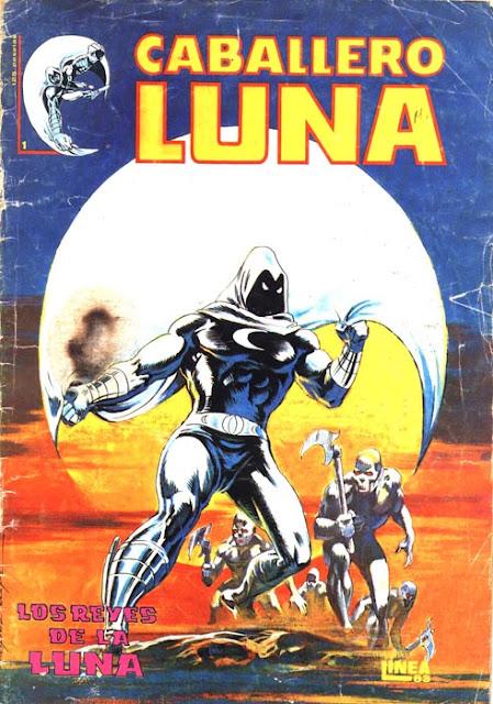 Portada del Caballero Luna Nº 1 Ediciones Surco