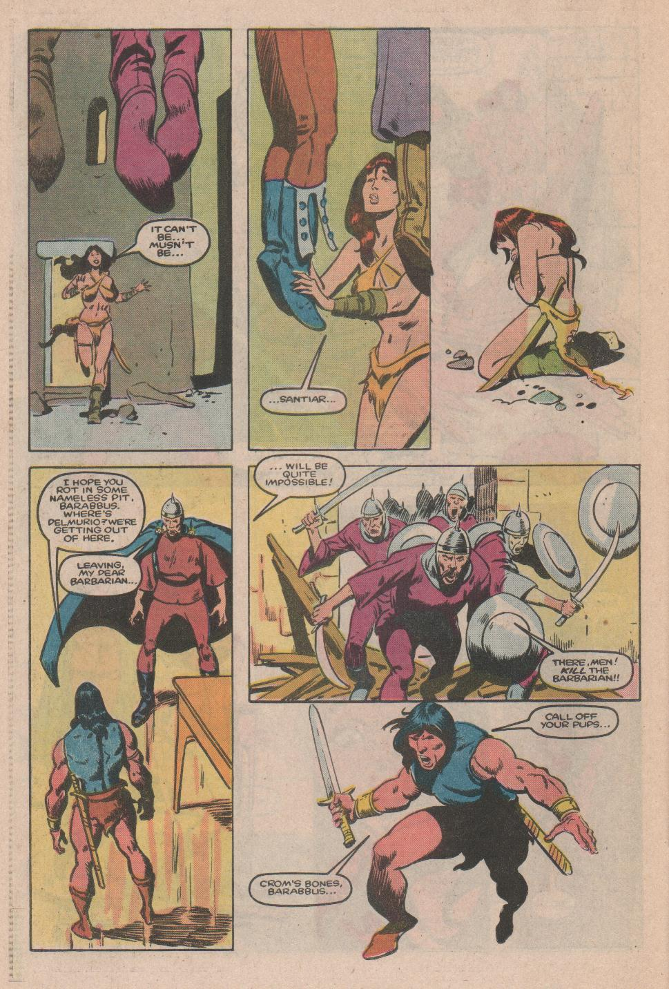 Conan the Barbarian (1970) Issue #174 #186 - English 17