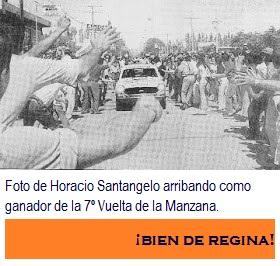 HORACIO SANTÁNGELO GANADOR DE LA 7º VUELTA DE LA MANZANA.