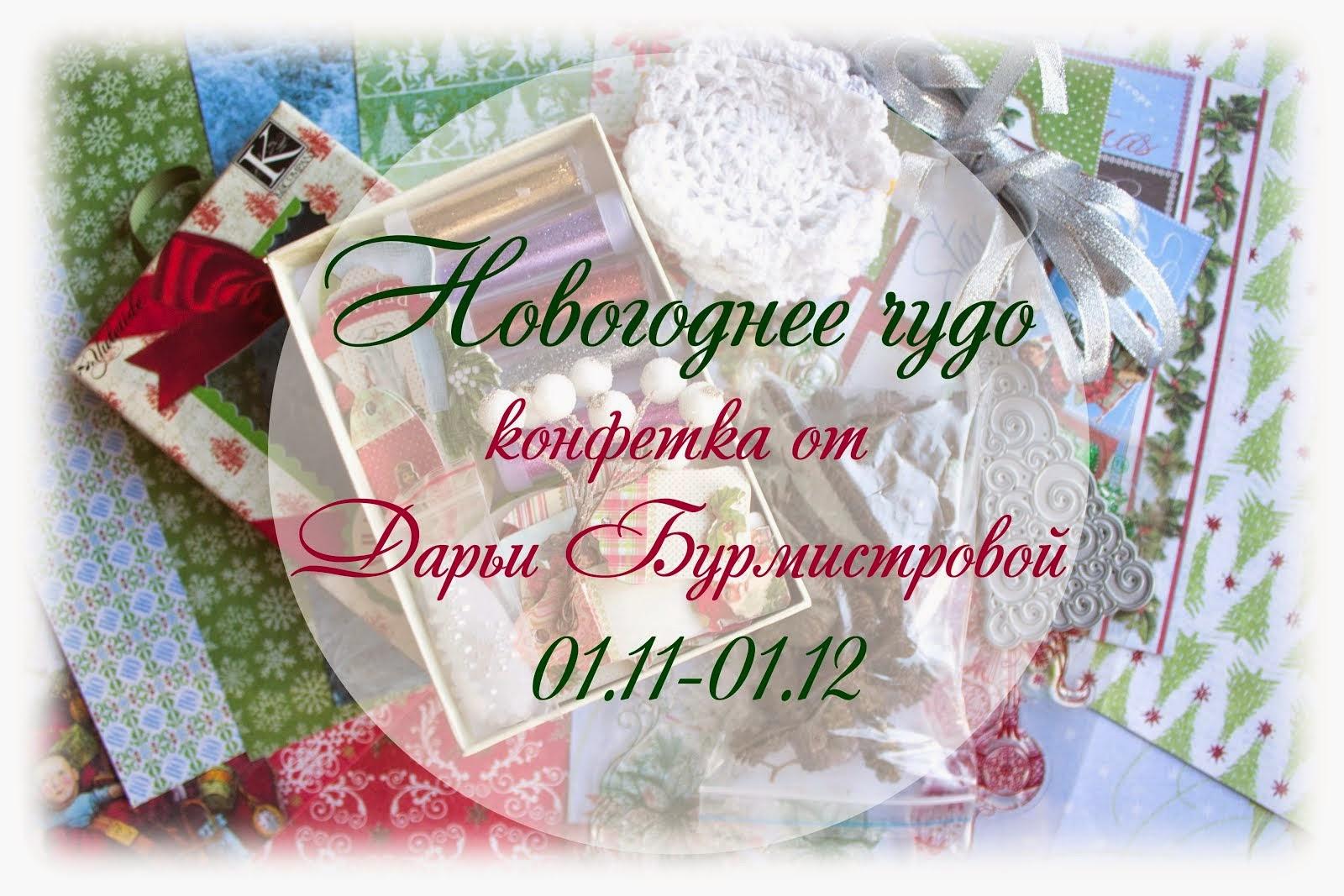 Новогоднее чудо от Дарьи Бурмистровой до 1 декабря