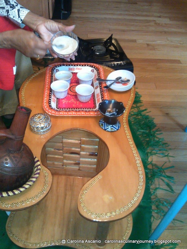 carolina's culinary journey: ceremonia del cafe - coffee ceremony
