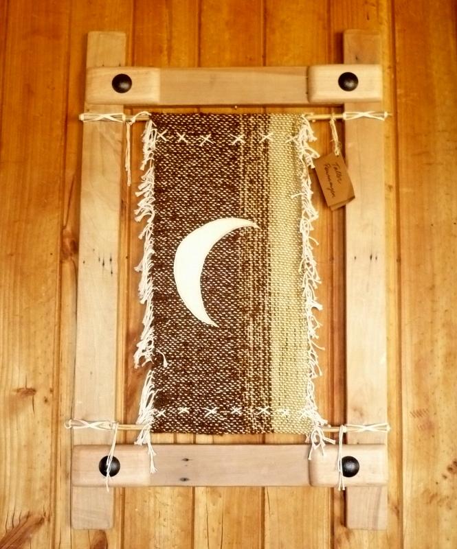 mathilda: Telares Murales enmarcados con madera recuperada
