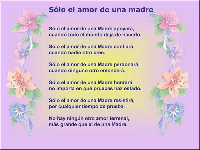 Poemas De Amor Para La Madre