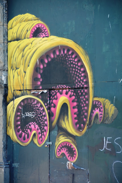 Seattle graffiti sea monster