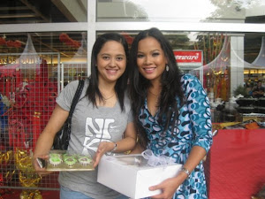 Cake MzC with Actress Salina Saibi