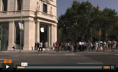 Apple Store Barcelona Video
