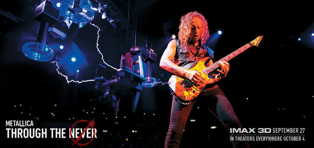 "Imágenes de la película ""Metallica: Through the Never"""