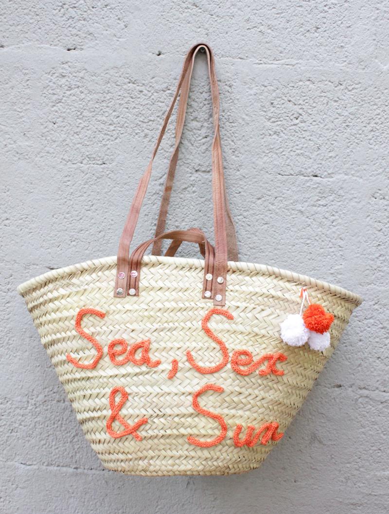 l 39 atelier des petites bauloises panier de plage sea sex sun. Black Bedroom Furniture Sets. Home Design Ideas