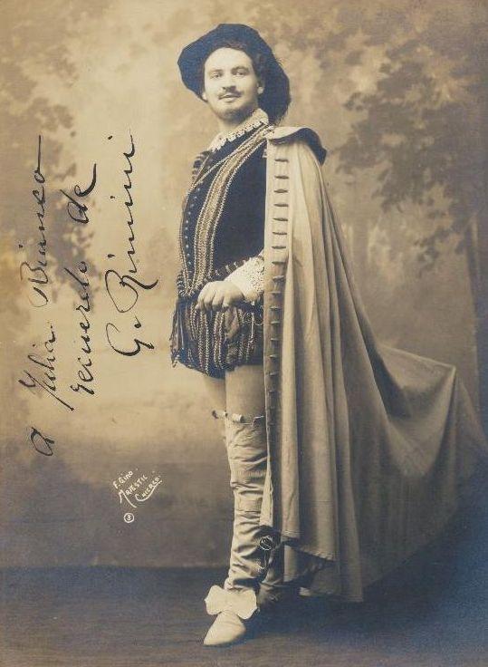 ITALIAN BARITONE GIACOMO RIMINI (1887 - 1952) CD
