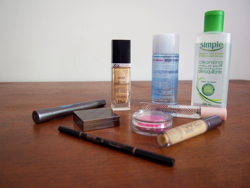 makeup products, skincare products, stella eau de toilette