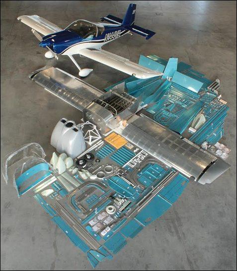 Kit for Van's RV14 (taildragger)