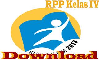 Download RPP Kurikulum 2013 Kelas IV SD