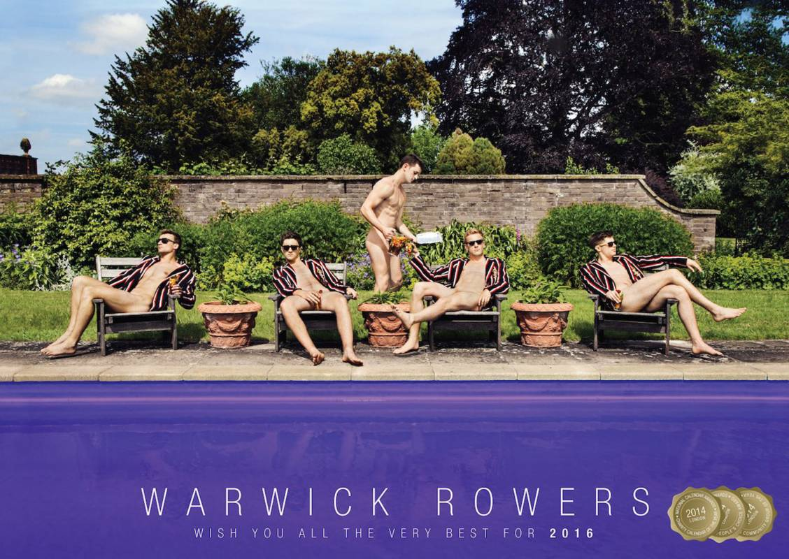 The Making of the Warwick Rowers 2016 Calendar