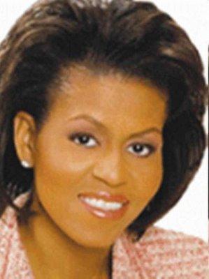 Michelle obama boob measurement