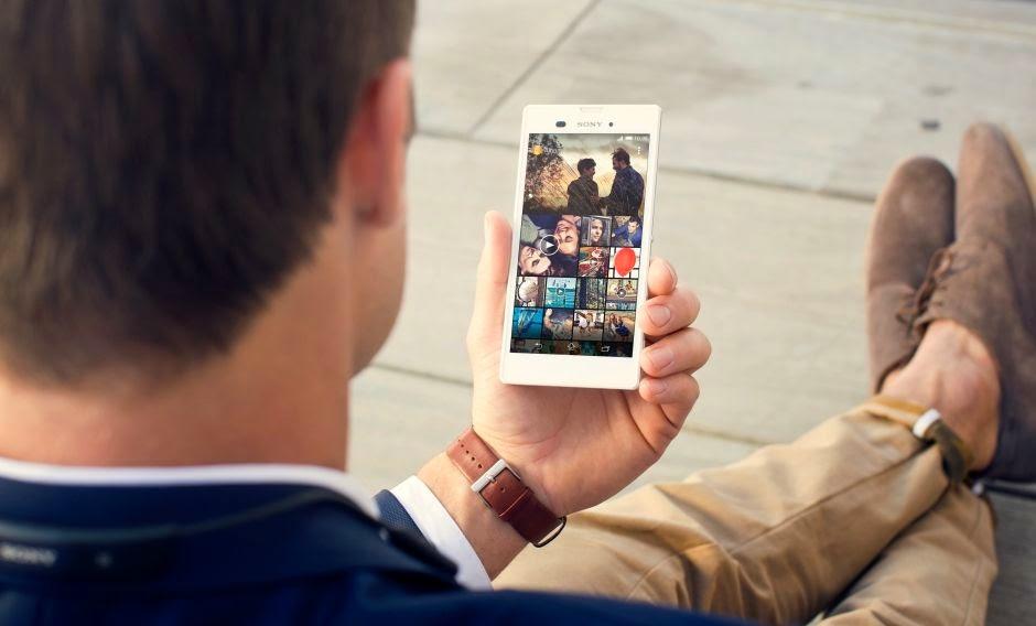 keindahan Sony Xperia T3