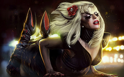 El intenso dolor de Lady Gaga - Pain - Wallpaper