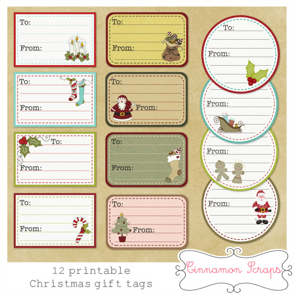 155 kb jpeg print and user personalized christmas gift gift tags for ...