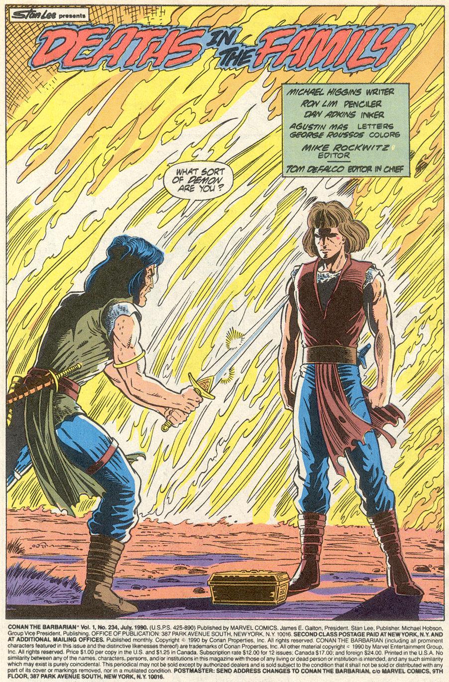 Conan the Barbarian (1970) Issue #234 #246 - English 2