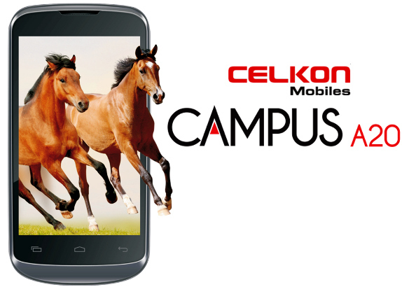 Celkon Campus A20 Price and Features