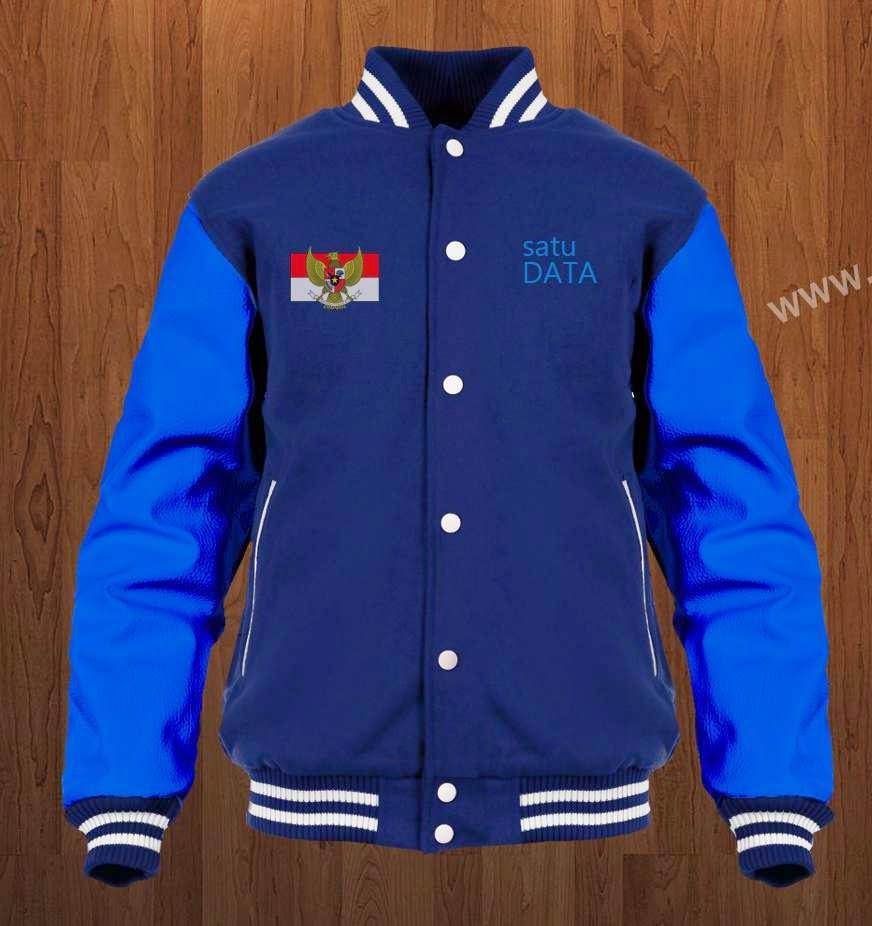 Contoh Desain Baju - Jaket Operator Sekolah Simpel Keren - Depan