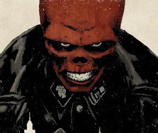 A personificação do mal - arte de David Aja.