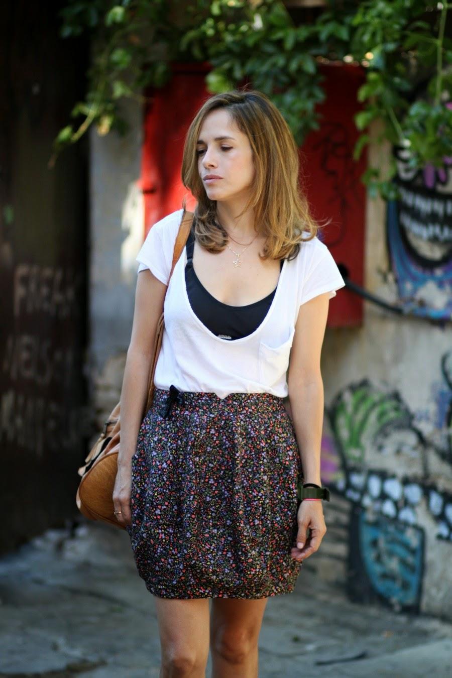 balloon, skirt, riverisland, sportybra, trend, newthing, fashionblog, streetstyle, אופנה, בלוגאופנה סטייל