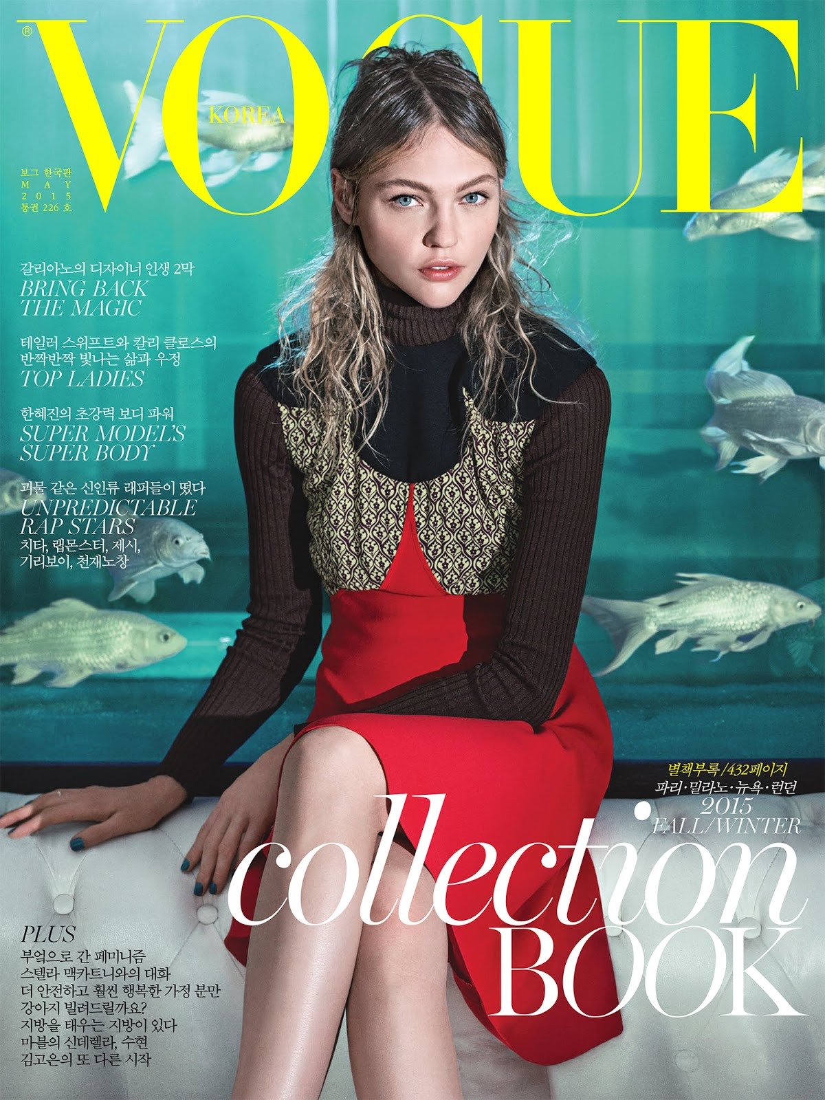 2019 year for women- Pivovarova sasha covers paris vogue october
