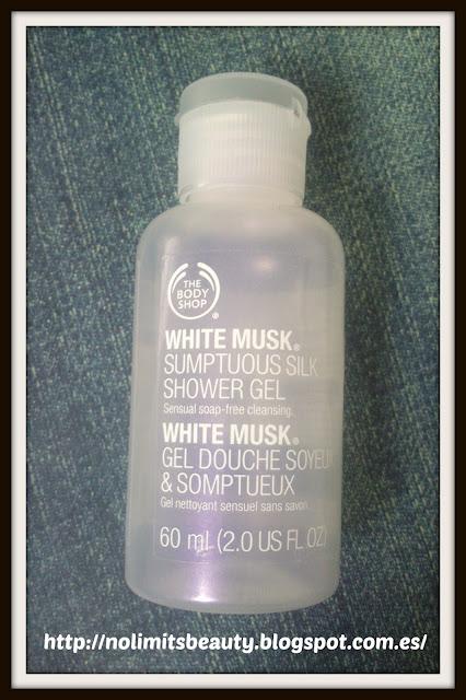 White Musk Shower Gel - The Body Shop