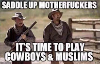 Saddle up boys.........