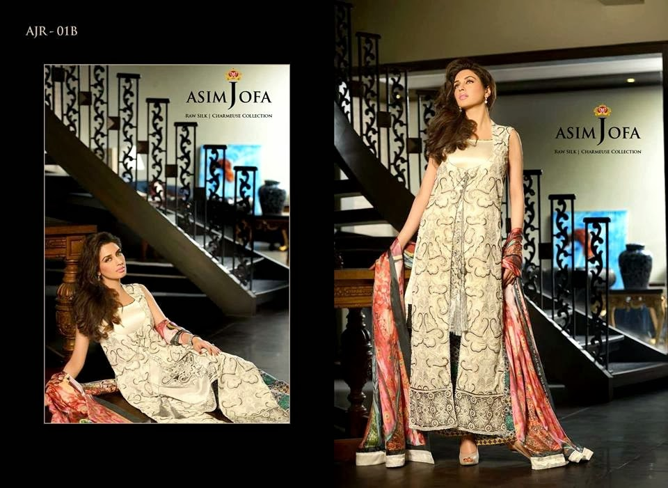 AsimJofaWinterCollection2014 wwwfashionhuntworldblogspotcom 015 - Asim Jofa Winter Collection 2014