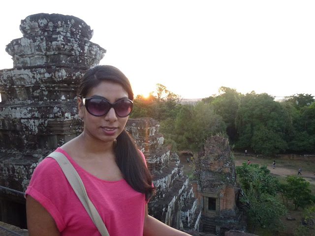 Desi girl's blog at Angkor Wat in Siem Reap