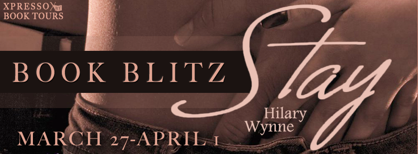 Book Blitz: Stay By Hilary Wynne