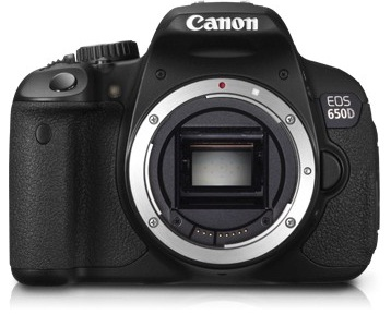 Canon EOS 650D in India launched with price tag of Rs. 55,995