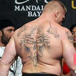 wrestler brock lesnar