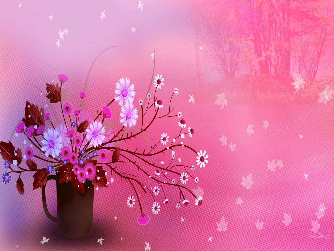 cute floral wallpapers for girls cute lovely girly backgrounds pink ...