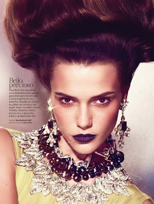Martha Streck HQ Pictures Vogue Brazil Magazine Photoshoot February 2014 By Ralf Pulmanns