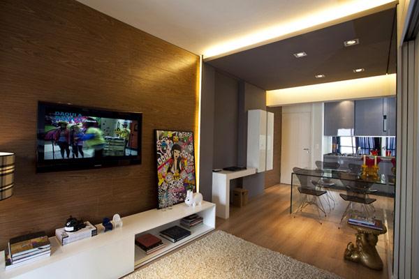 Diseño de Interiores & Arquitectura: Pequeño Apartamento de 45 ...
